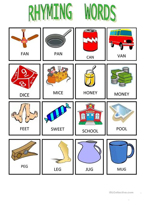 worksheet rhyming word worksheets worksheet