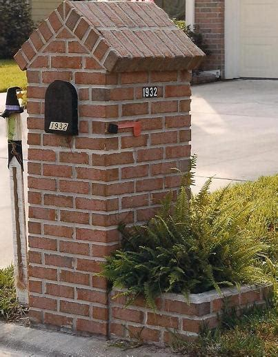 styles  brick mailboxes build  mailbox