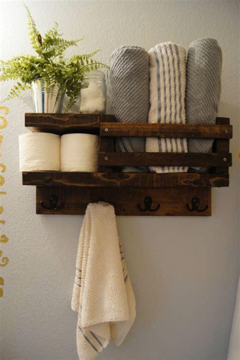 Rustic Diy Bathroom Storage Ideas (14)  Round Decor