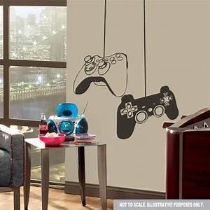 Gaming Zimmer Deko : gaming game ps3 xbox controller wall decal sticker on etsy wall decals pinterest ~ Markanthonyermac.com Haus und Dekorationen