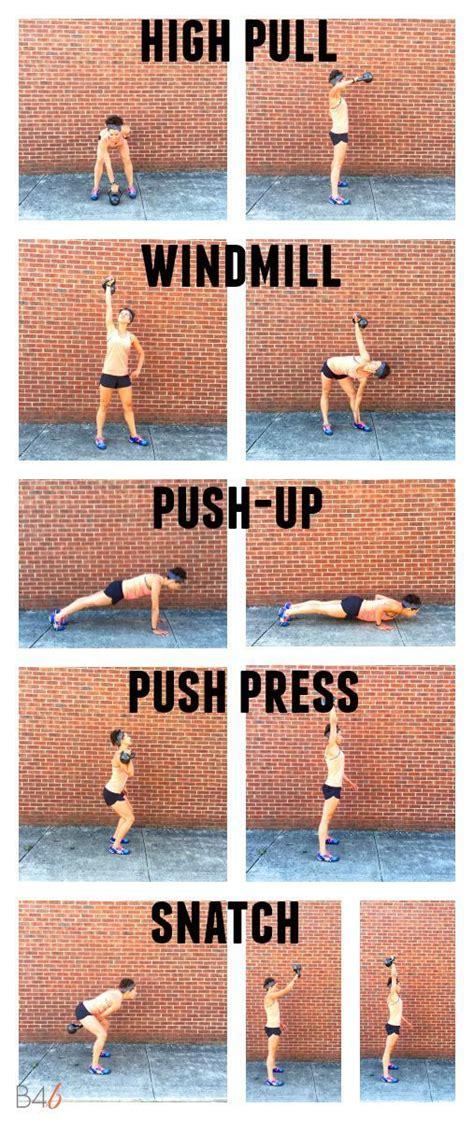 kettlebell upper body workout exercises burpeesforbreakfast unilateral