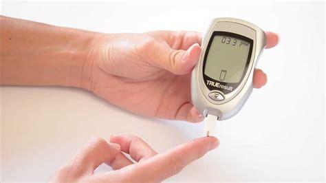 true result blood glucose meter demonstration youtube