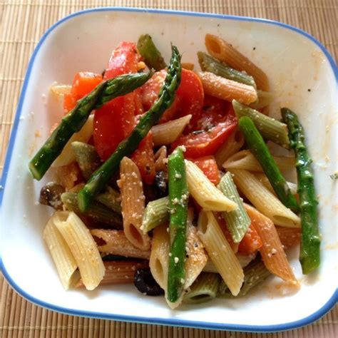 Penne With Roasted Vegetables And Tapenade Recipe All
