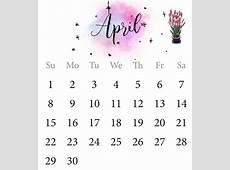 Calendário de abril de 2018 Download 2019 Calendar