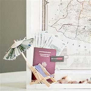 Liegestuhl Aus Geld : geldgeschenke originell verpacken 5 kreative ideen ~ Lizthompson.info Haus und Dekorationen