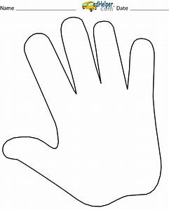 Best Photos of Template Of Handprint - Free Printable Hand ...