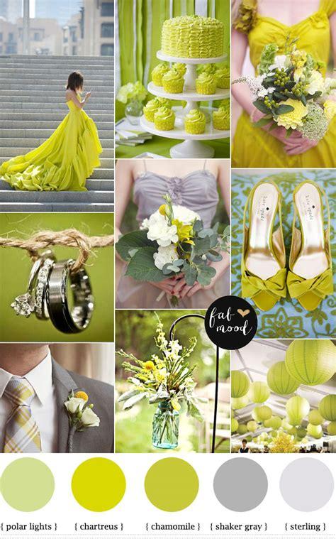 Chartreuse Wedding Color Palettechartreus Color