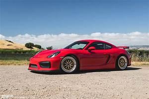 Forum Porsche Cayman : sp motorsports red porsche cayman gt4 track project gold bbs wheels bbi upgrades ~ Medecine-chirurgie-esthetiques.com Avis de Voitures