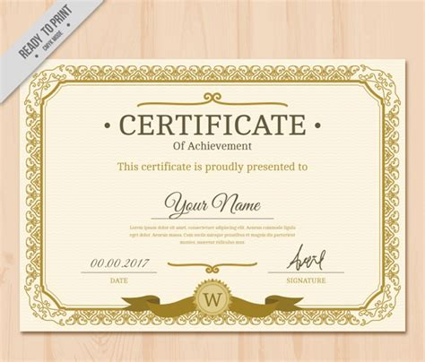 cer van layout 37 plantillas para diplomas y certificados completamente
