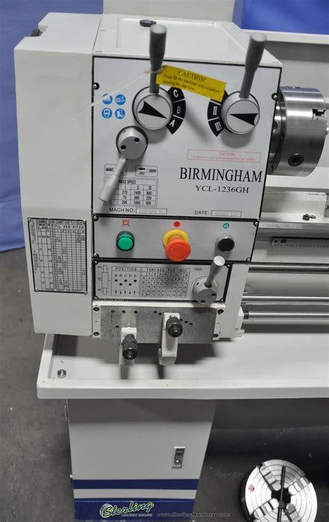 brand  birmingham gap bed hobby engine lathe geared
