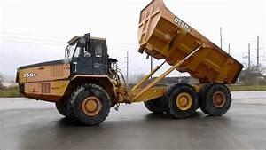 2000 John Deere 350c 6x6 Articulating Dump Truck For Sale
