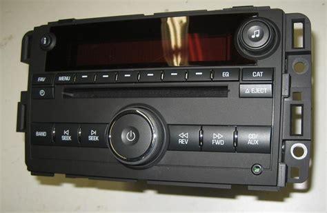 plugplay oem    gmc acadia cd radio mpauxipod
