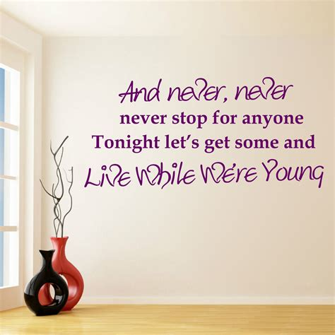 wall decal quotes  direction wallpaper  direction