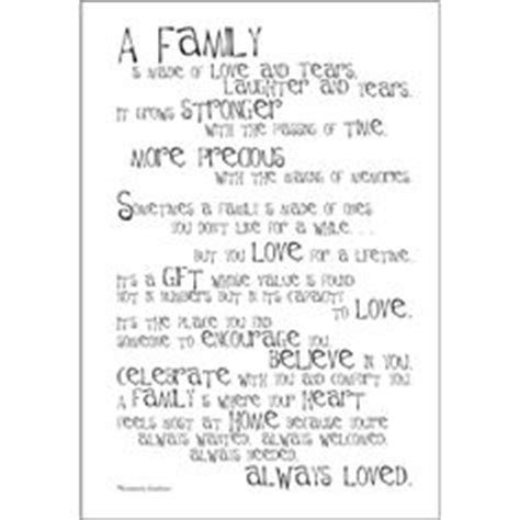 Hobby Lobby Wall Decor Sayings by 1000 Ideas About Poems About Family On Pinterest My