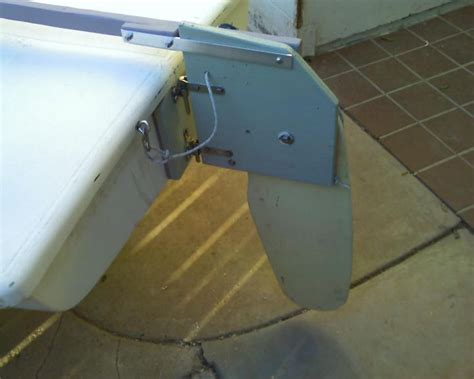 Jon Boat Rudder by Diy Simple Kickup Rudder