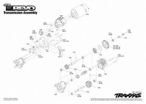 7105 Transmission Exploded View  1  16 E