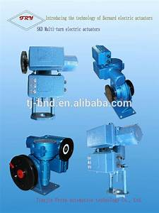 Electric Actuator Rising Stem Gate Valve Electric Gate
