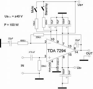 diy audio by mr suky tda7294 power amp 100w chip amp diy With 100w power amp