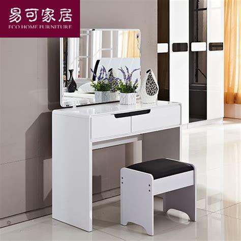 bureau maquilleuse un spécial coiffeuse simple moderne piano blanc de