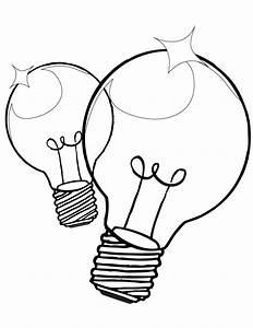 coloriage ampoule electrique a imprimer With color leds