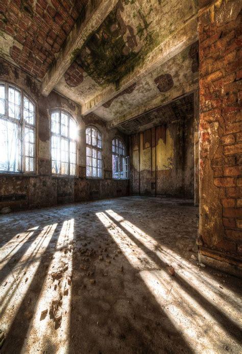 scenic background abandoned buildings backdrop vintage