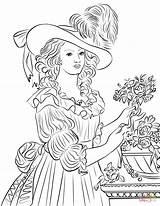 Marie Coloring Antoinette Maria Coloriage Printable Kleurplaat Mary Elisabeth Imprimer Poppins Colorier Kleurplaten Imagenes Dessin Printen Gratis Clipart Kleurplatenl sketch template
