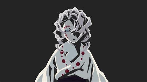 demon slayer rui  black background  hd anime