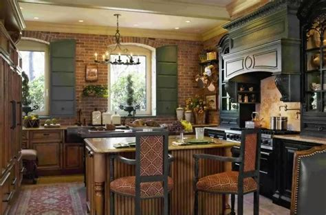 Get A Rustic Style Kitchen  My Decorative