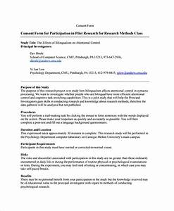 9  Research Consent Form Templates