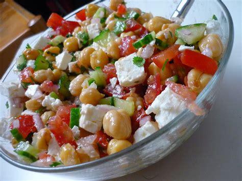 cuisine pois chiche salade de pois chiches estivale et orientale la cuisine