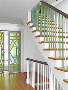 Treppen Streichen Ideen : 23 treppengel nder streichen ideen haus pinterest gel nder gr n und treppe ~ Markanthonyermac.com Haus und Dekorationen