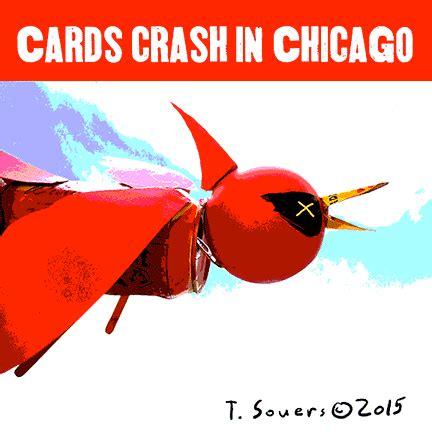cardinals crash  chicago cubs win nlds cubby blue