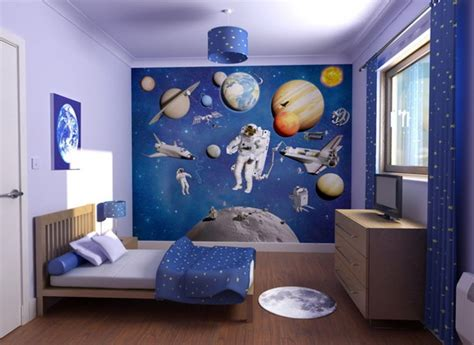 themed bedroom decor new galaxy themed boys bedroom adhesive tile wallpaper