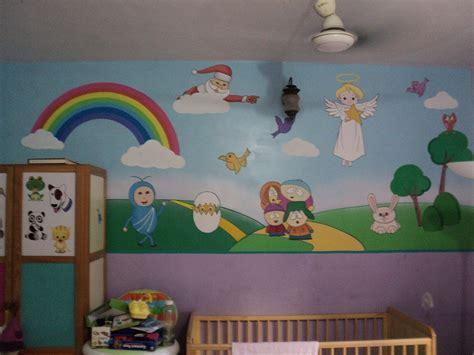 pre school classroom wall murals
