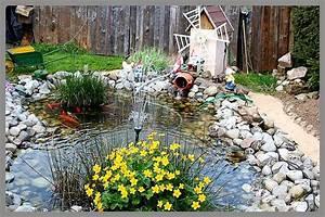 Bassin De Jardin Pour Poisson : aux jardins d 39 am lie le bassin aux poissons l 39 endroit ~ Premium-room.com Idées de Décoration