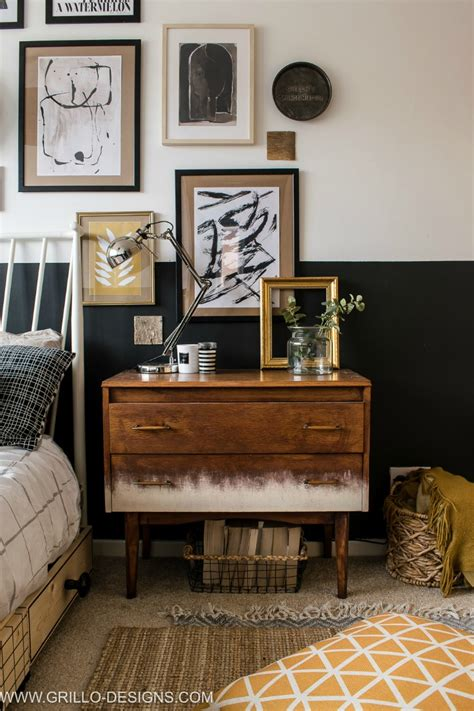 Schlafzimmer Vintage Modern by Modern Vintage Small Bedroom Makeover Grillo Designs