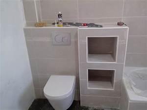 Pose Toilette Suspendu : fixation bati wc suspendu 27 messages page 2 ~ Melissatoandfro.com Idées de Décoration