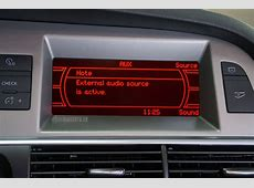 Audi AUX, AMI, iPod, iPhone, A2DP Bluetooth eftermontering