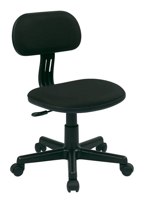 office chair with padded arms and chrome