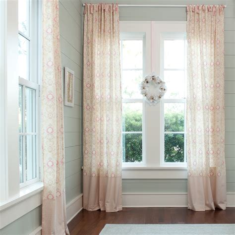 Crib Drapes - custom drape designer project nursery
