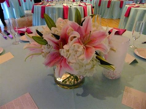 Stargazer Lilies Are The Focal In This Classic Centerpiece