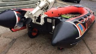 Inflatable Boat Kent by Seven Suspected Migrants Found In Boat Off Kent Bbc News