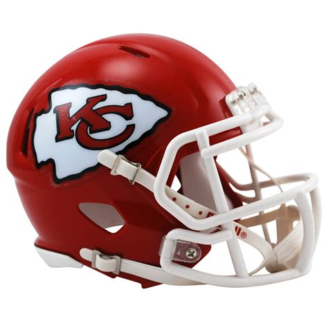 kansas city chiefs nfl mini speed football helmet buy