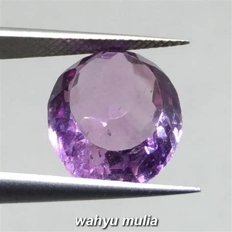 Akik Kecubung Sambas batu akik kecubung ungu amatis kalimantan asli kode 961