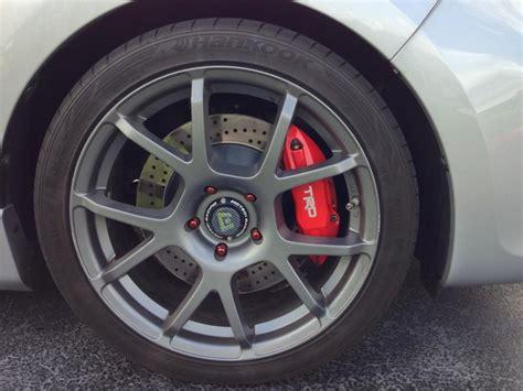 Got My Trd Brakes Installed On