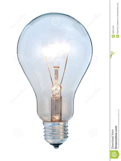 glowing light bulb royalty free stock images image glowing light bulb royalty free stock images image 18921449