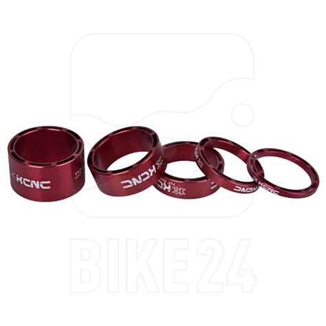 kcnc hollow design headset spacer set  pieces colored