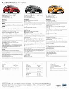 Dimension Ford Focus 3 : 2013 ford focus specs augusta ga ~ Medecine-chirurgie-esthetiques.com Avis de Voitures