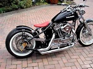 Bobber Harley Davidson : harley davidson 1200 sportster bobber chopper uk hard tail 1 youtube ~ Medecine-chirurgie-esthetiques.com Avis de Voitures