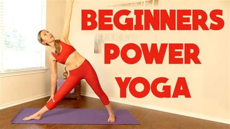 Beginners Power Yoga For Weight Loss ♥ 20 Minute Workout